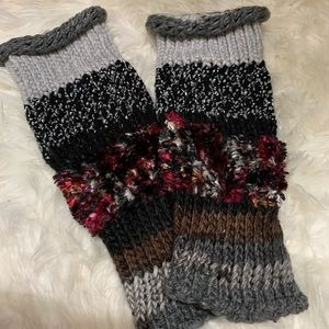 Knit Leg Warmers/ Boot Toppers